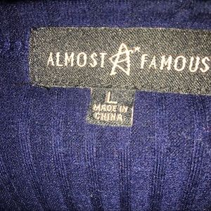 Almost Famous Tops - Long sleeve striped shirt